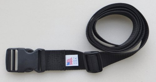 """1 1/2"""" Web Belt with Side Release Buckle 1 1/2"""" X 56"""" Heavy Poly Webbing"""