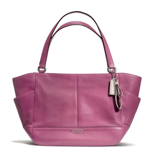 Coach   Coach Park Leather Carrie Tote in Rose - Style 23284