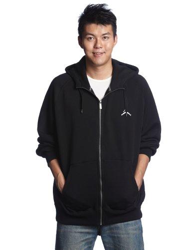 Nike Kinder Kapuzenpullover Jordan All Day Full Zip Hoody, black/white, XXL, 436425