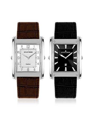 JACQUES LEMANS Reloj de cuarzo Man Set x 2 Format 1-1533 31 mm