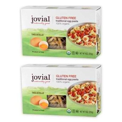 Jovial Organic Brown Rice Egg Tagliatelle Pasta, 9 Ounce -- 12 per case. (Jovial Egg Pasta compare prices)