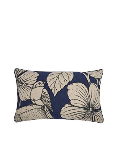 Thomas Paul Hibiscus Pillow, Indigo