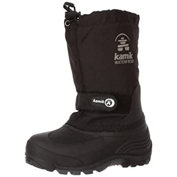 When the snow is falling, there is no time to struggle with stubborn boots. Kamik's® Classic collection is waterproof, warm, and durable. The Kamik® Waterbug 5, with its time-tested styling not only protects small feet from the elements they also go ...
