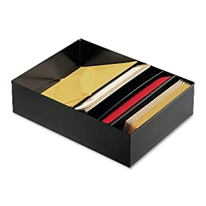 Steelmaster 4 compartment desk drawer - Desk drawer paper organizer ...