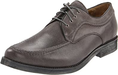 Hush Puppies Men's Commemorate Oxford, Grey Leather, 7.5 M US