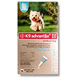 Bayer K9 Advantix II 11-20 Lbs (Teal) 4 Month Supply