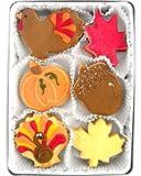 Beautiful Sweets Turkey Time Organic Cookies