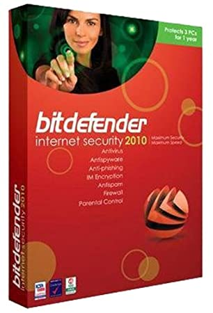 Bitdefender Internet Security 2010 - 3 Pc/2 Yr