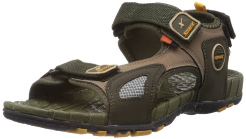 Sparx-Mens-Green-Synthetic-Sandals-Floaters-SS-604-8-UK