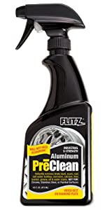 Flitz AL 01706-3A-3PK Industrial Strength Aluminum Pre-Clean, 16 oz. Spray Bottle, 3-Pack