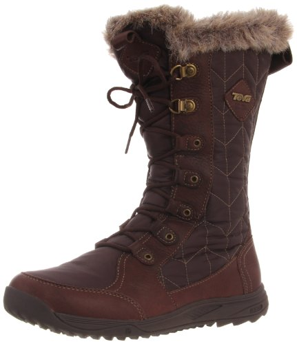 Teva Lenawee WP W's Snow Boots Womens Brown Braun (brown 556) Size: 40.5 EU/8 UK