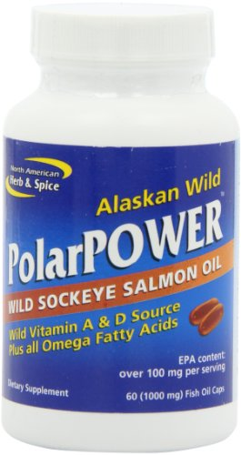 North American Herb And Spice, Polar Power Gel-Capsules, 60-Fish Oil Caps.