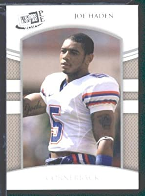 Joe? Haden CB Florida / Cleveland Browns (RC - Rookie Card) / 2010 Press Pass Portraits Edition NFL Football Trading Card In Screwdown Case