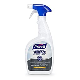 PURELL Professional Surface Disinfectant Spray 32 oz, Fresh Citrus, RTU (Pack of 3)