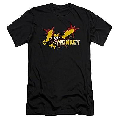 Dexter's Laboratory Monkey Slim Fit T-Shirt