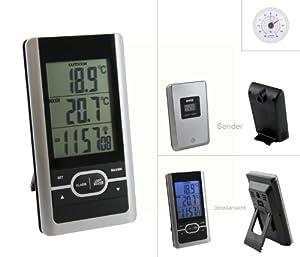 Partager facebook twitter pinterest dcf set 1 thermom a for Thermometre sans fil interieur exterieur