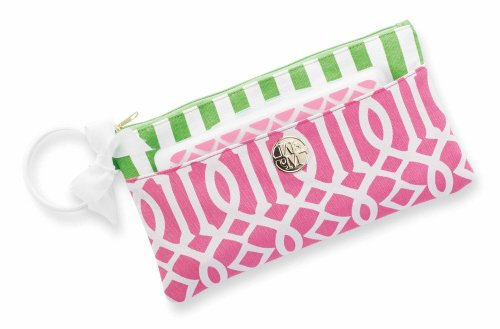 Mud Pie Lil Biter Bangle Bag, Pink