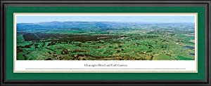 Golf Courses - Gleneagles - Framed Poster Print by Laminated Visuals