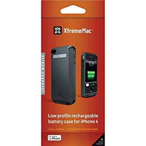 XtremeMac IPP-IM4-11 InCharge Mobile iPhone 4