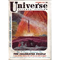 Universe Science Fiction, September 1953 (Volume 1, No. 2) by William T. Powers,&#32;William Campbell Gault,&#32;Gordon R. Dickson and Mark Clifton