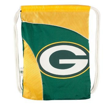 Green Bay Packers NFL Premium Cinch Bag Drawstring Backpack from NFL