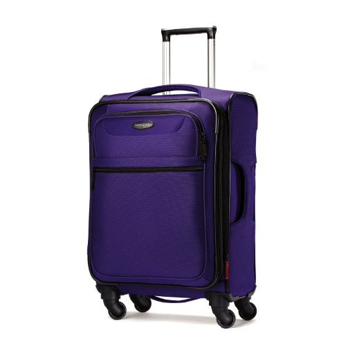 Suitcase cheap samsonite lift spinner 29 inch expandable wheeled luggage purple one size