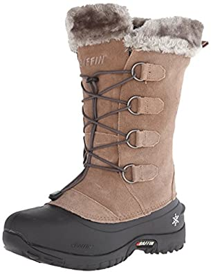 Amazon.com: Baffin Women's Kristi Insulated Suede Winter