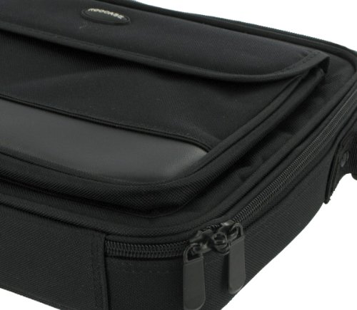 rooCASE Netbook Carrying Bag for Acer Aspire One AO722-BZ 11.6-Inch HD Netbook - Prototypical Series Black