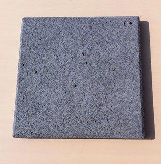 2枚セット!20センチ角! 穴が少ない高級溶岩だけを使用しています♪ 価格で...