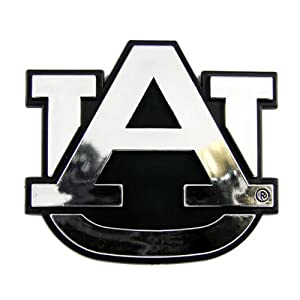 Buy Auburn Tigers NCAA Chrome 3D for Auto Car Truck Emblem Decal Sticker College Officially Licensed Team Logo by NCAA
