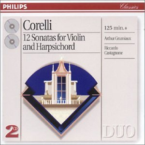 12 Sonatas for Violin and Harpsichord