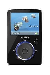 Sandisk Sansa Fuze Lecteur mp3/mp4 Tuner FM avec slot microSD et écran 2 Go