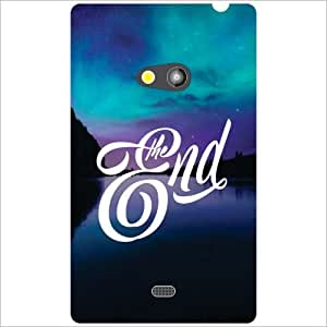 Nokia Lumia 625 Back Cover - The End Designer Cases