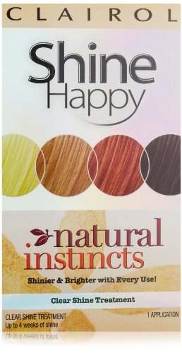 Clairol Natural Instincts Hair Color Shine Happy 00 Clear Shine Treatment 1 Kit (Pack Of 3) front-666873