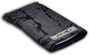 Norrun Handytasche / Handyhülle # Modell Gefried # ersetzt die Handy-Tasche von Hersteller / Modell Auro Comfort 1020 # maßgeschneidert # mit einseitig eingenähtem Strahlenschutz gegen Elektro-Smog # Mikrofasereinlage # Made in Germany