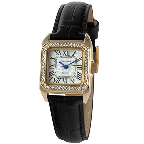 peugeot-womens-14k-gold-plated-square-tank-petite-small-black-leather-band-luxury-dress-watch-3052bk