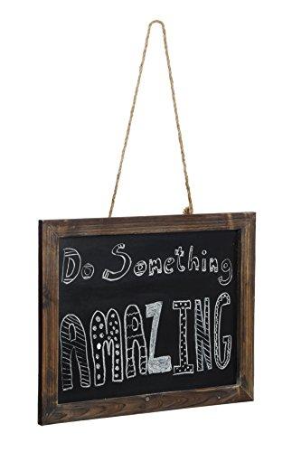 Dwellbee's Rustic Hanging Chalkboard Sign