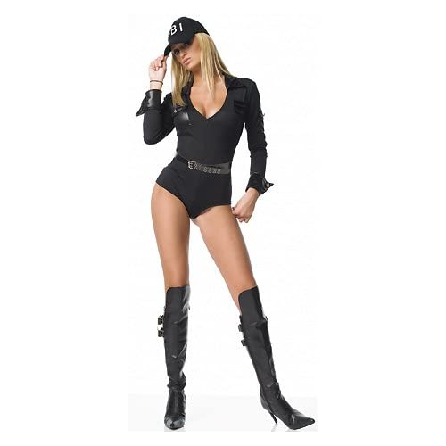 Sexy   Costumes: Sexy girls in FBI - Women's Sexy Police Costumes Uniform Outfit