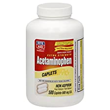Rite Aid Pharmacy Acetaminophen, Extra Strength, 500 mg, Caplets, 500 caplets