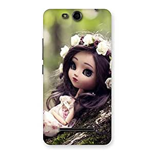 Angel And Tree Multicolor Back Case Cover for Micromax Canvas Juice 3 Q392