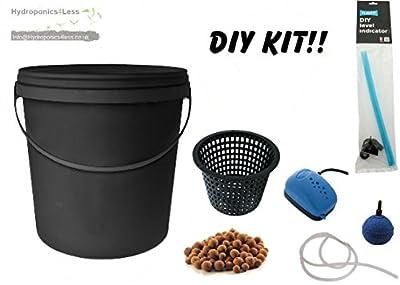 Bucket IWS Deep Water Culture DWC OxyPot Bubbler Hydroponic System Complete Kit