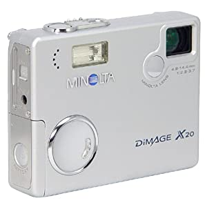 Minolta Dimage X20 2MP Digital Camera w/ 3x Optical Zoom