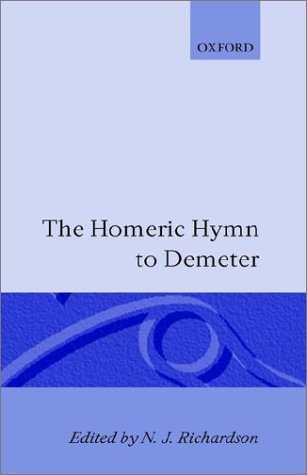 shakespeare in oxford:The Homeric Hymn to Demeter