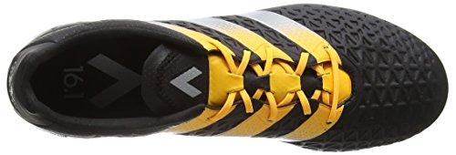 adidas Herren Ace 16.1 FG/AG Fußballschuhe, Schwarz (Core Black/Silver Met./Solar Gold), 43 1/3 EU -
