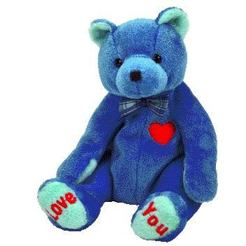 TY Beanie Baby - DAD-e the Bear (Internet Exclusive)
