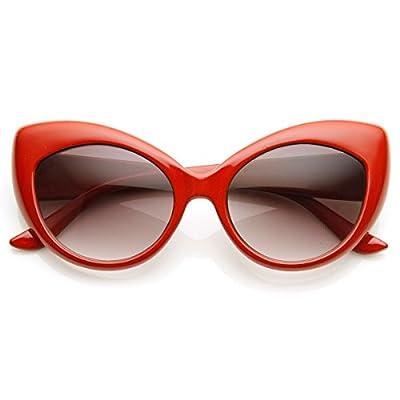 Cat Eye Glasses Red