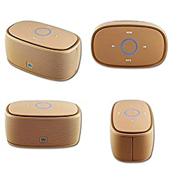 KINGONE K5 Bluetooth Speaker with TF MP3 Player and Handsfree Surround Sound & Super Bass Golden