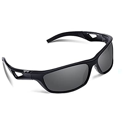 Ewin E51 Polarized Sports Sunglasses for Men Women Golf Driving Fishing