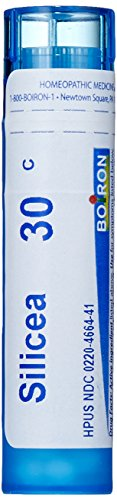 Boiron Homeopathic Medicine Silicea, 30C Pellets, 80 Count Tube
