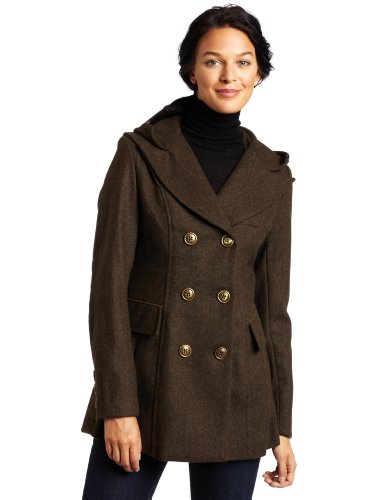 41BTKFkDQ L Miss Sixty Womens Missy Wool Riding Coat